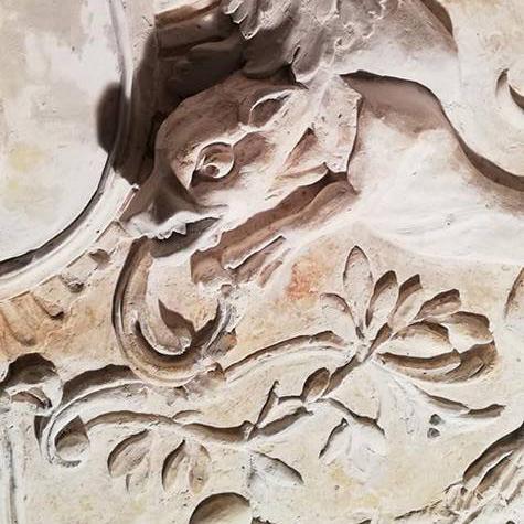 Trumeaux en gypserie